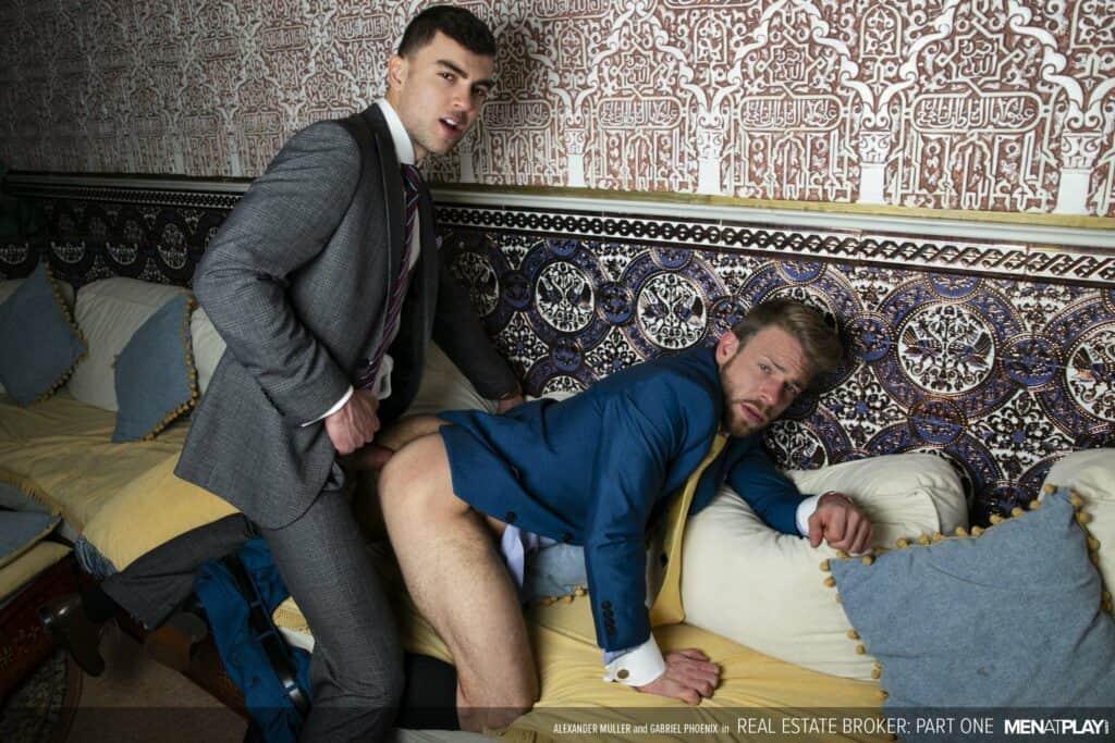 Men at Play, Real Estate Broker, Gabriel Phoenix, Alexander Muller,