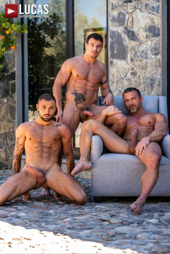 Tomas Brand, Jeffrey Lloyd, Jesse Sanatana, Lucas Entertainment, Daddy