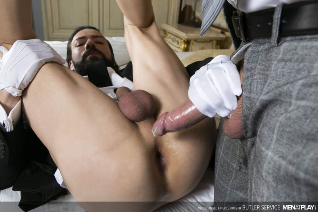 Pierce Paris, Miguel Angel, Men at Play, Butler Service