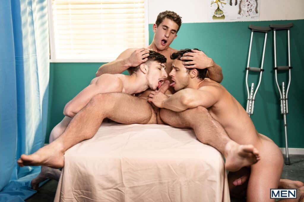 Intensive Cum Unit, Men.com, Michael Jackman, Nate Grimes, Zane Williams