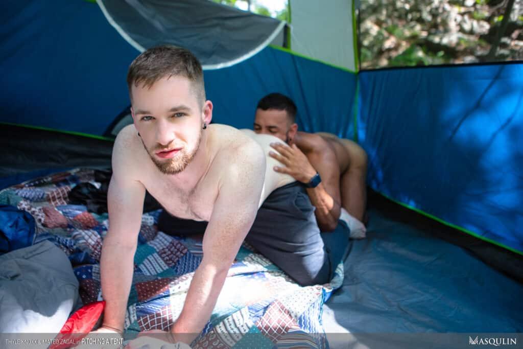 MASQULIN, Pitching a tent, Thyle Knoxx, Mateo Zaga