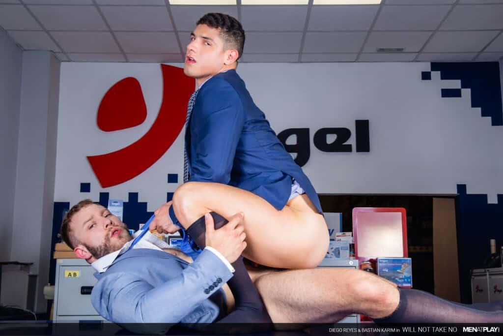 Diego Reyes, Men at Play, Bastian Karim, Will not take No