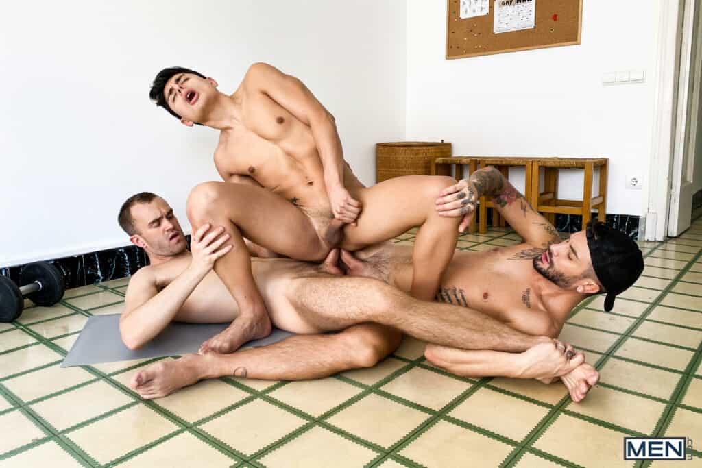 Jackson Radiz, Ken Summers, Andrea Suarez, Men.com, Stay in Shape